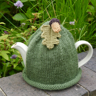 Large Acorn Tea Cosy 8 Cup, Autumn, Fall Tea Cozy