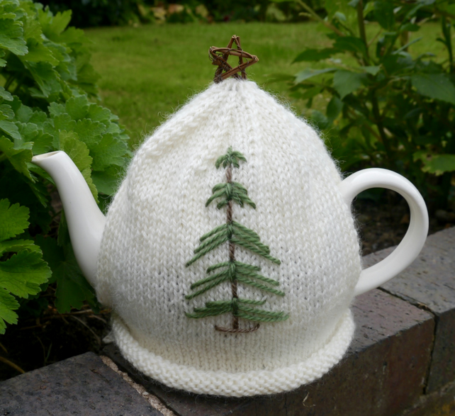 Christmas Tree Tea Cosy, Christmas Decor