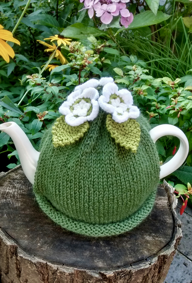 Spring Apple Blossom Tea Cosy