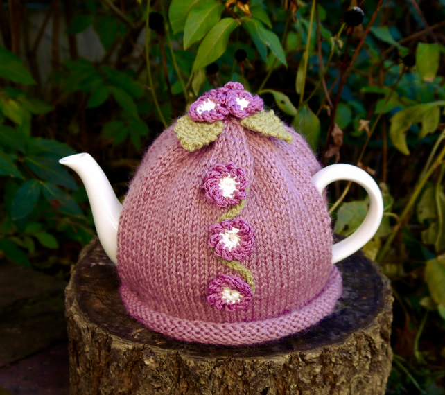 Pink Tea Cosy Primula Flowers