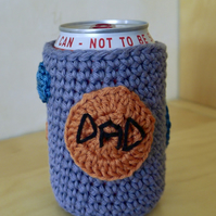 Dad Beer Can Cosy, Father's Day Gift, Can Cozy