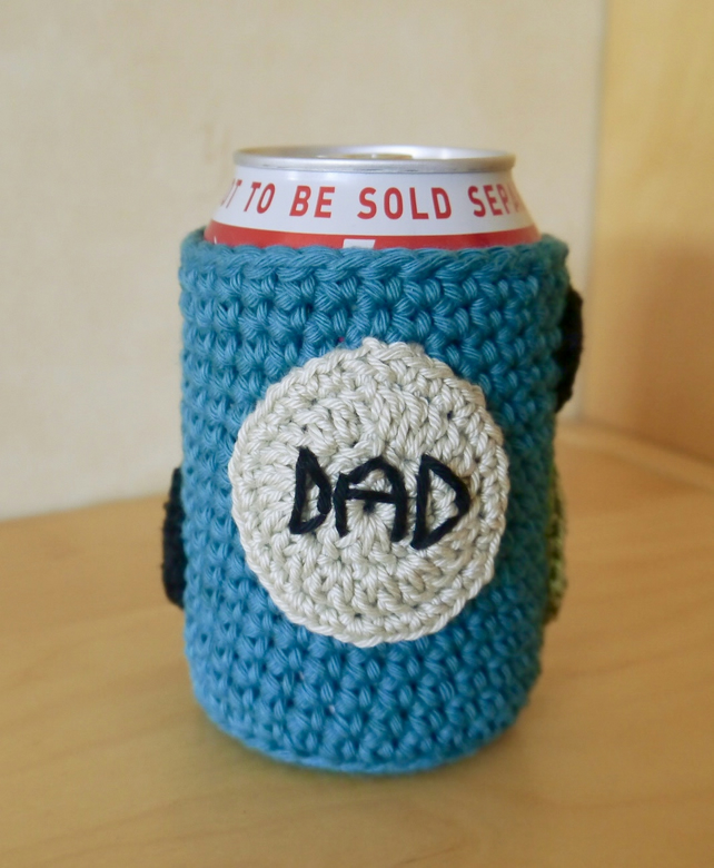Dad Beer Can Cosy, Gift for Dad