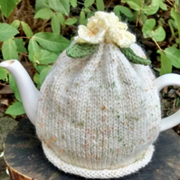 Spring Primroses Tea Cosy, Mother's Day Gift