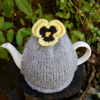 Yellow Pansy Tea Cosy