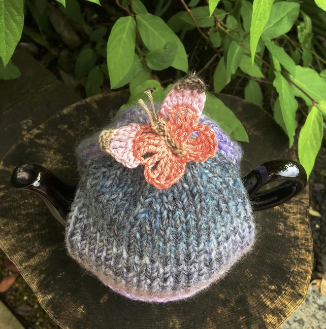 One Cup Butterfly Tea Cosy