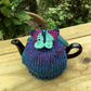 Small Tea Cosy with Turquoise Butterfly, One Cup Tea Cozy