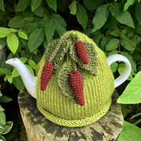 Red Chilli Pepper Tea Cosy, Gift for Food Lovers