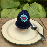 Crochet Flower Egg Cosy, Easter Egg Cozy