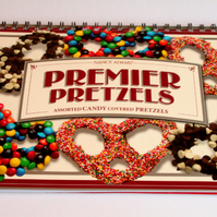 Recycled Candy Coated Premier Pretzels Large Sketch Book / Yummmy