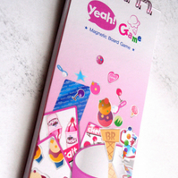 Recycled Korean Baskin Robins American Ice Cream Parlour yeah Game Box Book - Free Bookmark :)