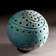 small stoneware sculpted orb 8