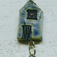 'wonky house' necklace 3