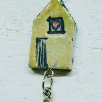 'wonky house' necklace 4