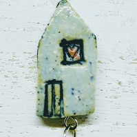 'wonky house' necklace 6