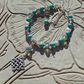 Turquoise and Celtic Knot Bracelet for Protection