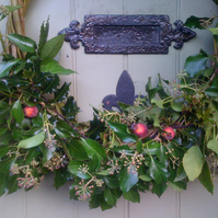 Natural Christmas Willow Wreath Workshop 1.12.18