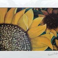 Yellow Sunflowers Print
