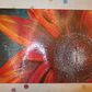 Chopping Board with Rudbeckia Flower Print