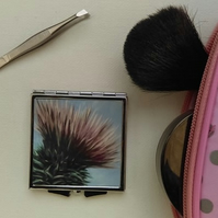 Thistle Compact Mirror