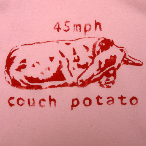 Lazy greyhound ladies vest