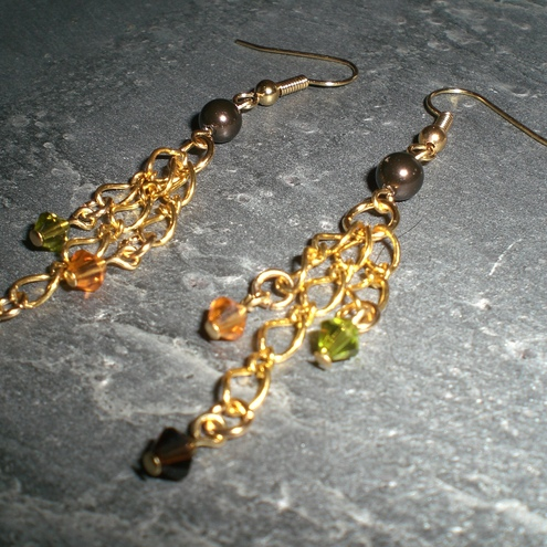 *SALE* Earrings - Autumn