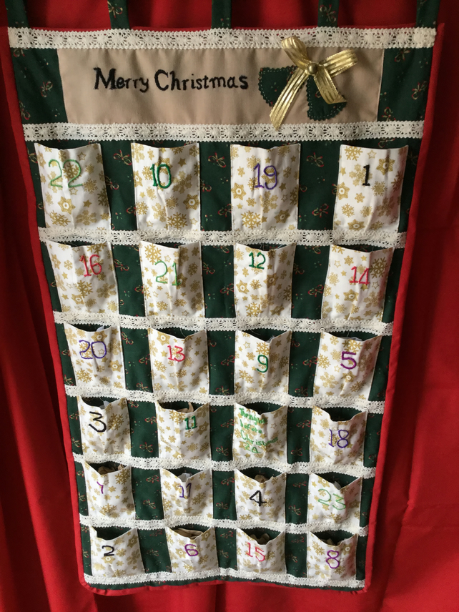 Advent calendar SPECIAL OFFER PRICE REDUCED