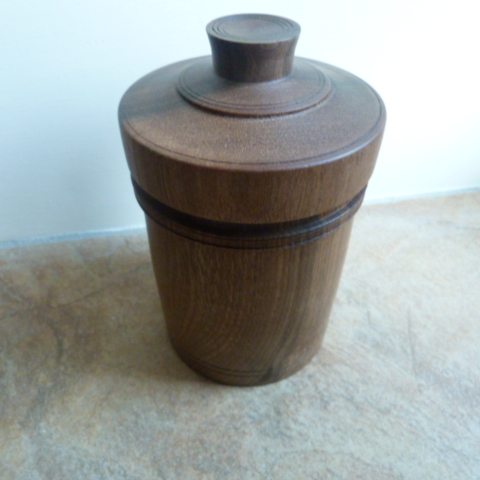 WALNUT MULTI USE CONTAINER