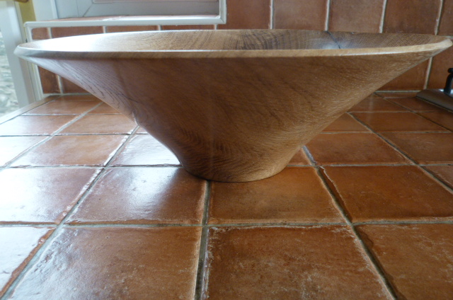 ENGLISH OAK FRUIT BOWL
