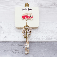 Car Key Hanger - Personalised - New Car Gift - Key Holder