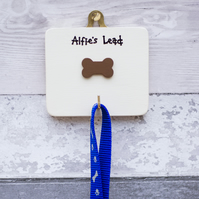 Dog Lead Holder - personalised dog lead hook - Gift for Dog Owner - Dog Gift