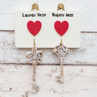 Key hanger - Personalised - House warming - Wedding - Retirement - Christmas