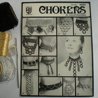 Vintage Crochet Pattern 007 Choker Necklace 1003 from WonkyZebra