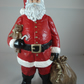 Ceramic Hand Painted Father Christmas Santa Claus Figurine Ornament Decoration.