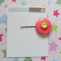 SALE Button Hairslide