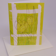 Nature inspired cards x 6
