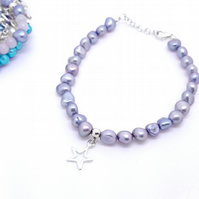 Superstar - children's pearl bracelet
