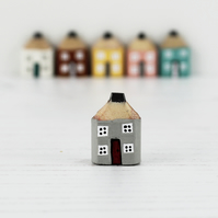 Miniature Wooden House, Handmade Pencil House, Housewarming Gift, New Home Gift,