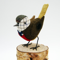 Fabric Bird - COUNTRY GENTLEMAN - Made to Order