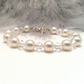 Abigail Crystal and Pearl Bracelet. Bridal Jewellery Wedding Bracelet.