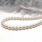 Classic Pearl Necklace. Small Pearl Bridal Necklace. Cream Pearl Wedding Choker