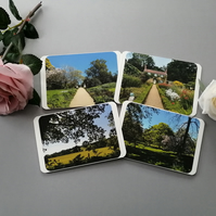 Set of 4 Nature Notecards