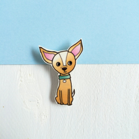 Charlie the Chihuahua Brooch