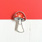 Blushing Toadstool Brooch