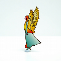 Angel Brooch