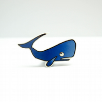 Sergio The Sperm Whale Brooch