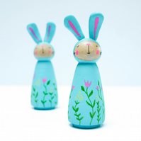 Spring Easter Bunny Ornaments