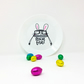 Feed me Treats Easter Bunny Plate
