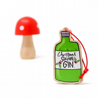 Christmas Gin Decoration