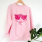 Pink Get Lost sweater