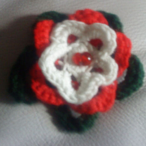 Christmas Rose Brooch